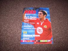 Bristol City v Tranmere Rovers, 2001/02